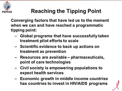 Reaching the Tipping Point