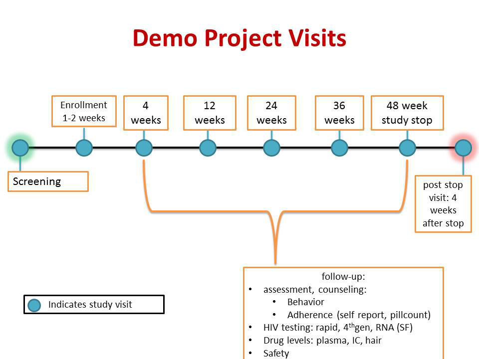 Demo Project Visits