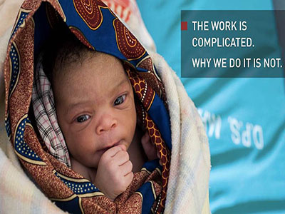 The work is completed. Why we do it is not.