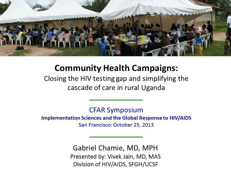 Community Health Campaigns