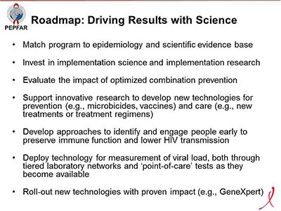 Roadmap: Driving Results with Science