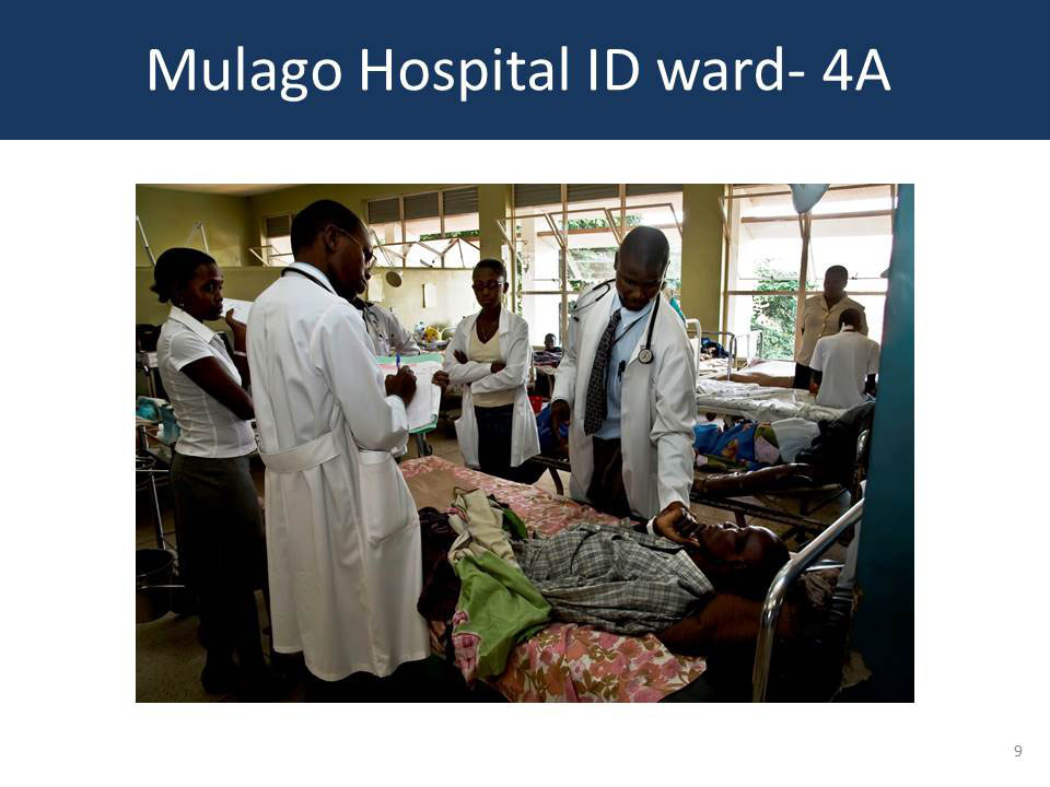 Mulago Hospital ID ward - 4A