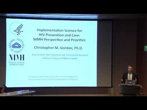 Christopher Gordon: Implementation Science for HIV Prevention and Care...