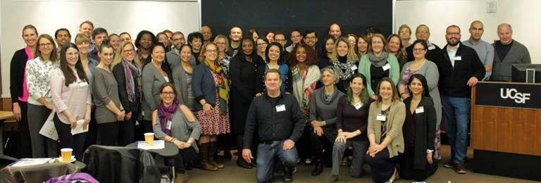 image of participants in the Mentoring the Mentors workshop